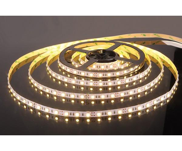 Светодиодная лента 5050/60 LED 14.4W IP20 теплый белый свет