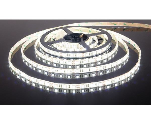 Светодиодная лента 5050/60 LED 14.4W IP65 белый свет