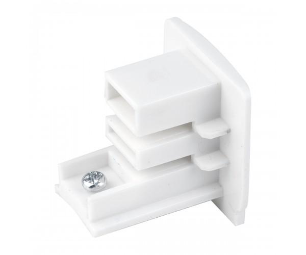 Заглушка для трехфазного шинопровода белая