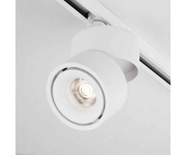 Трековый светодиодный светильник для однофазного шинопровода Klips Белый 15W 4200K