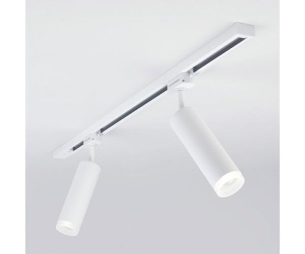 Трековый светодиодный светильник для однофазного шинопровода Oskar Белый 10W 4200K