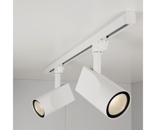 Трековый светодиодный светильник для трехфазного шинопровода Vista Белый 32W 3300K