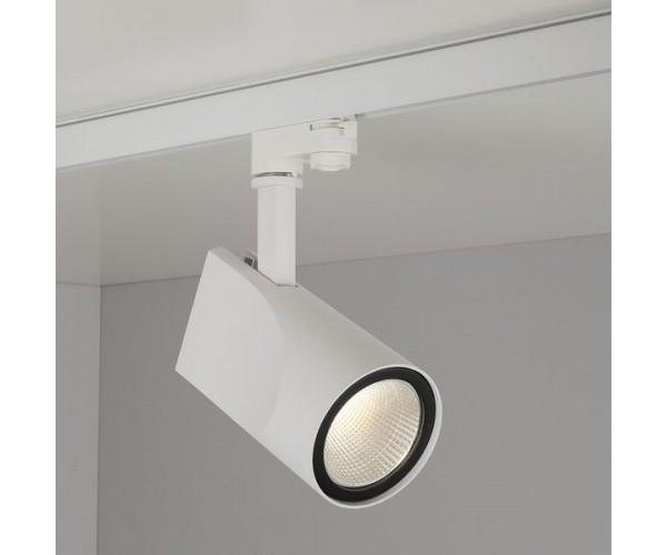 Трековый светодиодный светильник для трехфазного шинопровода Vista Белый 32W 4200K