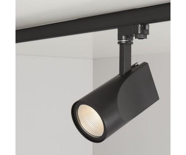 Трековый светодиодный светильник для трехфазного шинопровода Vista Черный 32W 4200K