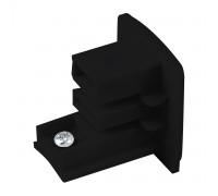 Заглушка для трехфазного шинопровода черная