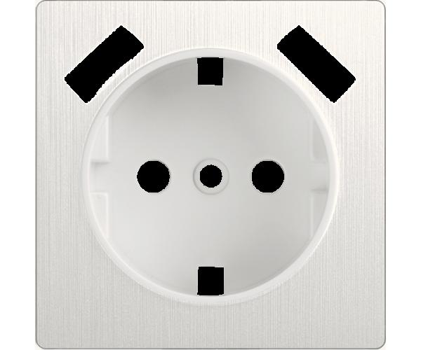 Накладка для USB розетки (перламутровый рифленый) WL13-USB-CP