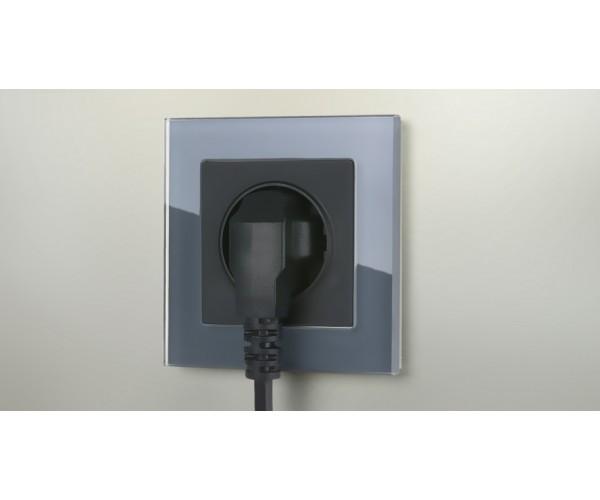 Рамка на 1 пост WL01-Frame-01 Серый