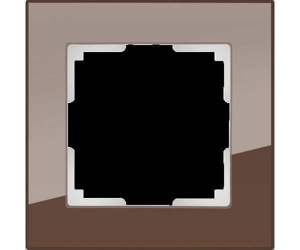 Рамка на 1 пост WL01-Frame-01 Мокко