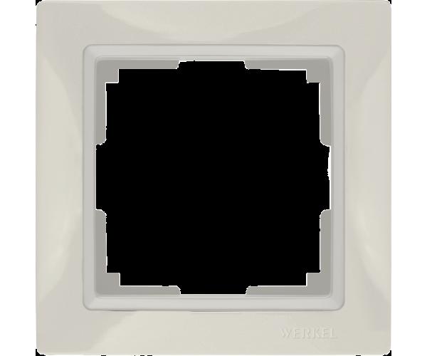 Рамка на 1 пост WL03-Frame-01 Basic Слоноваякость
