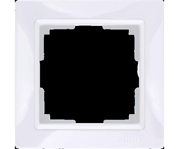 Рамка на 1 пост WL03-Frame-01 Basic Белый