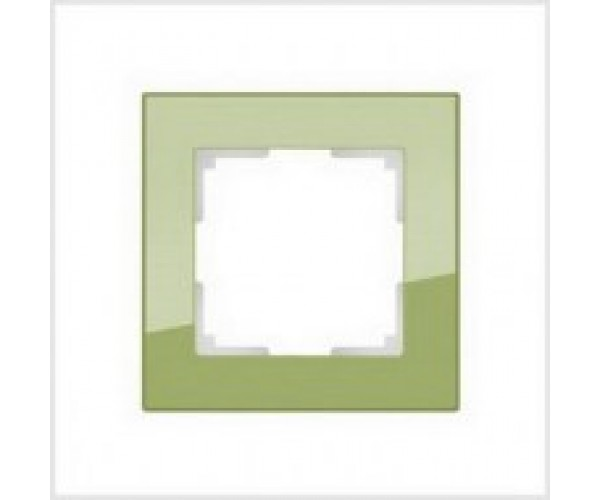 Рамка на 1 пост WL01-Frame-01 Фисташковый